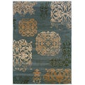 Arabesque Filigree Patina Area Rug (7'10 x 11'2)