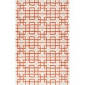 Hand-tufted Lawton Geometric Wool Rug (5' x 8')