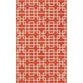 Hand-tufted Langston Geometric Wool Rug (3'3 x 5'3)