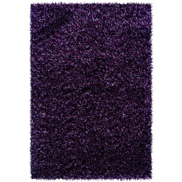 "Somette Confetti Purple Passion Area Rug (5'3"" x 7'6"")"