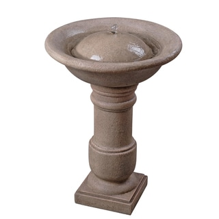 Caqliari Birdbath Fountain