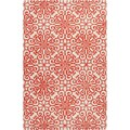 Hand-tufted Hinton Geometric Medallion Wool Rug (5&#39; x 8&#39;)
