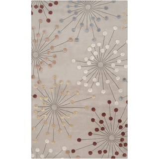 Hand-tufted Goldsby Geometric Wool Rug (2' x 3')