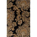 Hand-tufted Bristow Black Rug (8&#39; x 11&#39;)