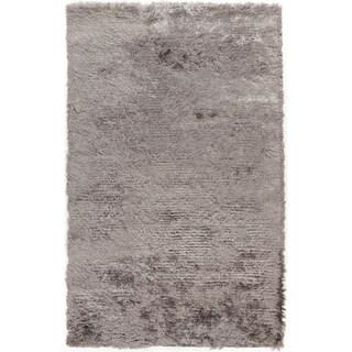 Hand-woven Altus Grey Plush Rug (8' x 10')