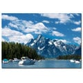 Philippe Sainte-Laudy 'Instant Blue' Canvas Art