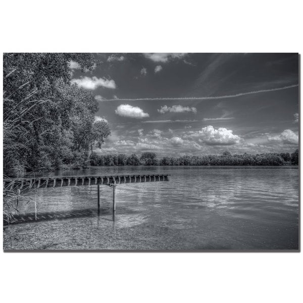 Philippe Sainte-Laudy 'Horizontality' Canvas Art