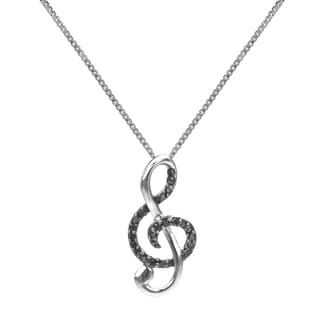 Sterling Silver, I1-I2 Diamond | Overstock.com: Buy Necklaces Online