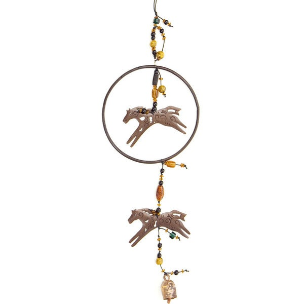 Painted Ponies Wind Chime (India)