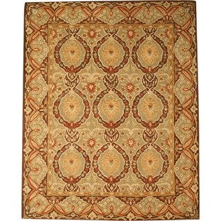 "Hand-Tufted Twisted Wool Royal Kabul Oriental Rug (7'9"" x 9'9"")"