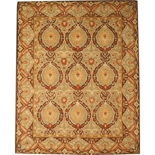 Hand-Tufted Twisted Wool Royal Kabul Oriental Rug (7'9