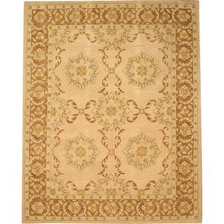 Hand Tufted Twisted Wool Peshawar Rug (7'9 x 9'9)
