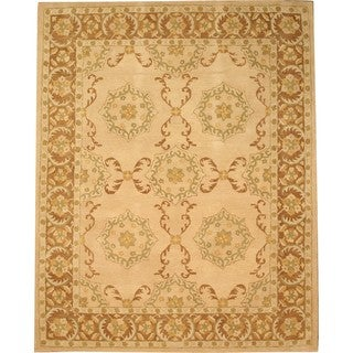 Hand Tufted Twisted Wool Peshawar Rug (7'9 x 9'9)