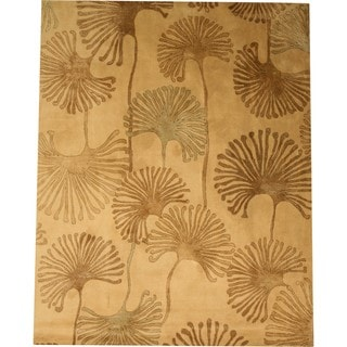 Hand Tufted Wool and Viscose Sonalo Rug (8' x 10')