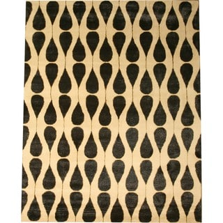 Hand Tufted Wool and Viscose Lucinda Rug (9' x 12')