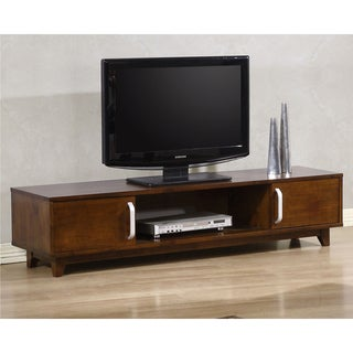 Draper Wood Entertainment Center | Overstock.com Shopping - Great ...