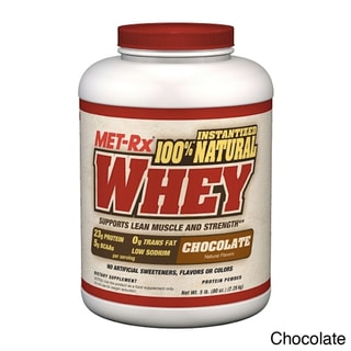 MET-Rx 100% Natural Whey Protein Supplement (5 Pounds)