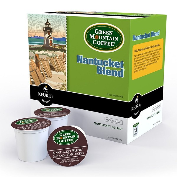 Green Mountain Coffee Nantucket Blend Coffee for Keurig Brewers (96 K-Cups)