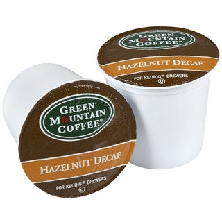 Green Mountain Coffee Hazelnut DECAF K-Cups for Keurig Brewers (Box of 96)