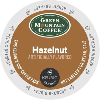 Green Mountain Coffee Hazelnut K-Cups for Keurig Brewers (Box of 96)