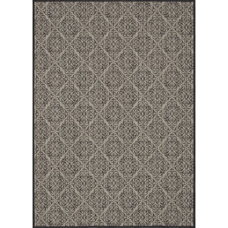 Rosemerta Sea Foam/ Charcoal Rug (5'2 x 7'7)