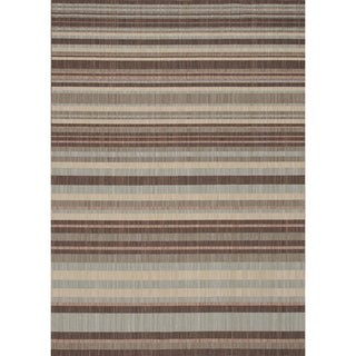 Rosemerta Multi Stripes Rug (5'2 x 7'7)