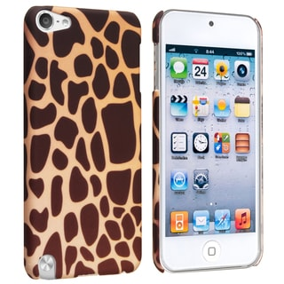 BasAcc Giraffe Rubber Coated Case for Apple iPod Touch Generation 5