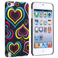 BasAcc Hearts Rubber Coated Case for Apple iPod Touch Generation 5