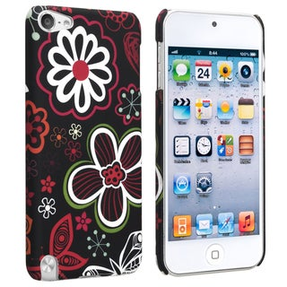 BasAcc Flower 21 Rubber Coated Case for Apple iPod Touch Generation 5