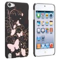 BasAcc Butterfly Rubber Coated Case for Apple iPod Touch Generation 5