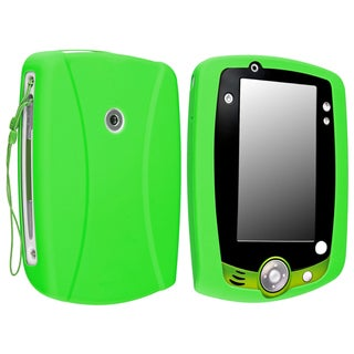 Green Silicone Case compatible with LeapFrog LeapPad 2
