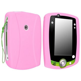 INSTEN Baby Pink Soft Silicone Tablet Case Cover for LeapFrog LeapPad 2