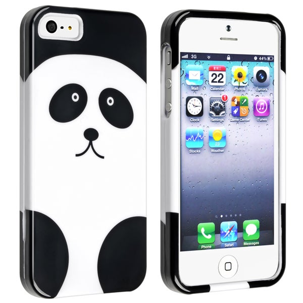 BasAcc Panda Snap-on Case for Apple iPhone 5