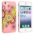 BasAcc Flower Rear Style 64 Rubber Coated Case for Apple iPhone 5