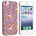 BasAcc Stars Rear Snap-on Rubber Coated Case for Apple iPhone 5