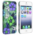 BasAcc Flower Rear Style 25 Rubber Coated Case for Apple iPhone 5
