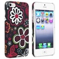 BasAcc Flower Rear Style 21 Rubber Coated Case for Apple iPhone 5
