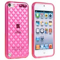 BasAcc Clear Hot Pink TPU Case for Apple iPod Touch Generation 5