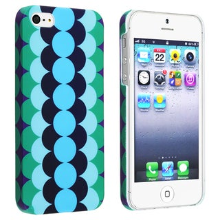 BasAcc Flower Style 67 Snap-on Rubber Coated Case for Apple iPhone 5
