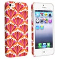 BasAcc Flower Style 66 Snap-on Rubber Coated Case for Apple iPhone 5
