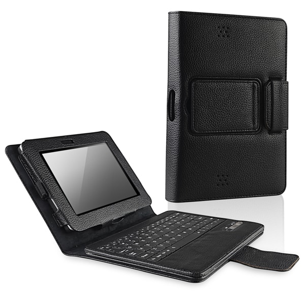 BasAcc Leather Case with Keyboard for Amazon Kindle Fire HD 7-inch