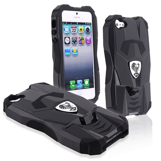 BasAcc Black/ Black Sports Car Hybrid Case for Apple� iPhone 5