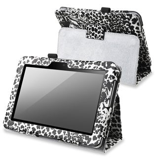 BasAcc White Leather Case with Stand for Amazon Kindle Fire HD 7-inch