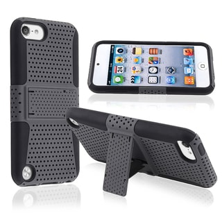 BasAcc Black Hybrid Case with Stand for Apple� iPod touch Generation 5