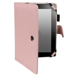 BasAcc Pink Leather Case for Amazon Kindle Fire HD 7-inch