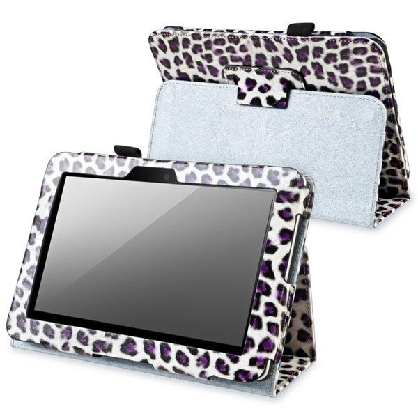 BasAcc White Leather Case with Stand for Amazon Kindle Fire 7-inch