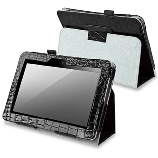 BasAcc Black Leather Case with Stand for Amazon Kindle Fire 7-inch