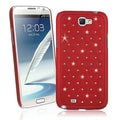 BasAcc Red Diamond Snap-on Case for Samsung Galaxy Note II N7100