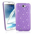BasAcc Purple Diamond Snap-on Case for Samsung Galaxy Note II N7100