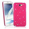 BasAcc Hot Pink Diamond Snap-on Case for Samsung Galaxy Note II N7100